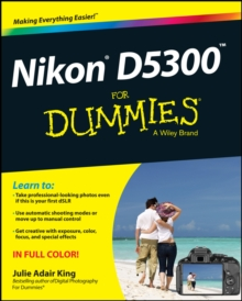 Nikon D5300 for Dummies, Paperback Book