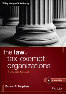 The Law of Tax-Exempt Organizations, Hardback Book