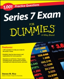 1,001 Series 7 Exam Practice Questions For Dummies, Paperback / softback Book