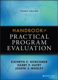 Handbook of Practical Program Evaluation, Hardback Book