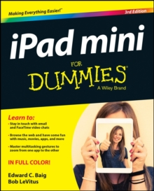 Ipad Mini for Dummies, 3rd Edition, Paperback Book