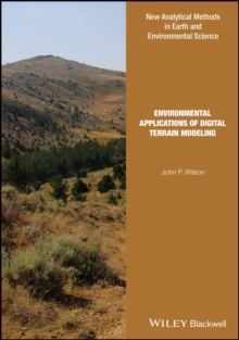 Environmental Applications of Digital Terrain Modeling, Hardback Book