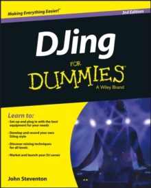 DJing for Dummies 3E, Paperback Book