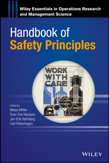 Handbook of Safety Principles, Hardback Book