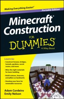 Minecraft Construction For Dummies, Paperback / softback Book