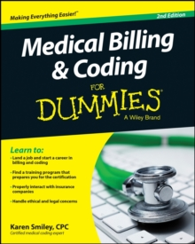 Medical Billing and Coding For Dummies, Paperback / softback Book
