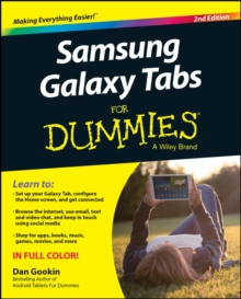 Samsung Galaxy Tab S for Dummies, Paperback Book