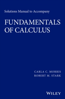 Solutions Manual to accompany Fundamentals of Calculus, Paperback / softback Book