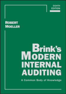 Brink's Modern Internal Auditing : A Common Body of Knowledge, Hardback Book