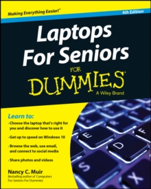 Laptops For Seniors For Dummies, Paperback Book