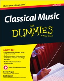 Classical Music For Dummies, Paperback / softback Book
