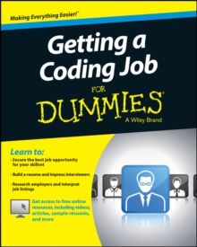 Getting a Coding Job for Dummies, Paperback Book