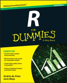 R for Dummies, 2nd Edition, Paperback Book
