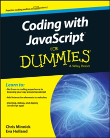 Coding with JavaScript For Dummies, Paperback / softback Book