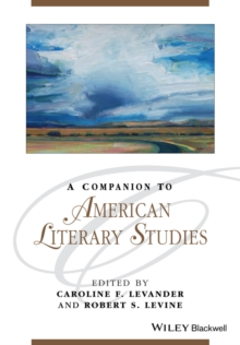 A Companion to American Literary Studies, Paperback / softback Book