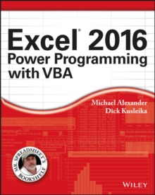 Excel 2016 Power Programming with VBA, Paperback Book