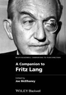 COMPANION TO FRITZ LANG, Paperback Book