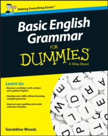 Basic English Grammar for Dummies, UK Edition, Paperback / softback Book