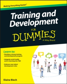 Training & Development for Dummies, Paperback Book