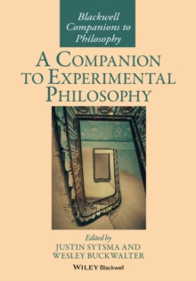 COMPANION TO EXPERIMENTAL PHILOSOPHY, Paperback Book