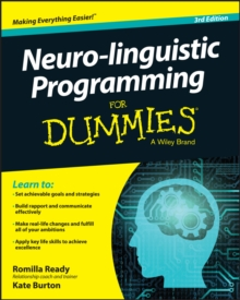 Neuro-linguistic Programming For Dummies, Paperback / softback Book