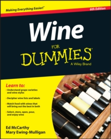 Wine For Dummies, Paperback Book