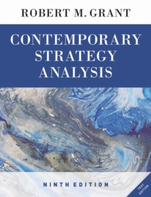 Contemporary Strategy Analysis Text Only, Paperback Book