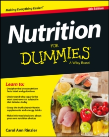 Nutrition For Dummies, Paperback Book