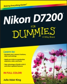 Nikon D7200 For Dummies, Paperback Book