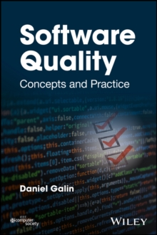Software Quality : Concepts and Practice, Hardback Book