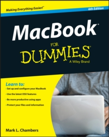 MacBook For Dummies, Paperback Book