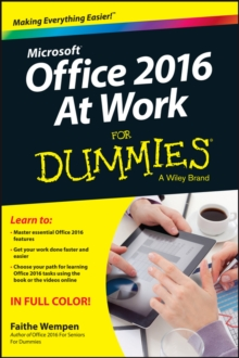 Office 2016 at Work For Dummies, Paperback / softback Book