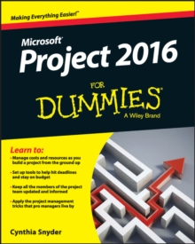 Project 2016 For Dummies, Paperback / softback Book