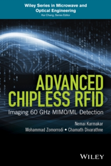 Advanced Chipless RFID : MIMO-Based Imaging at 60 GHz - ML Detection, Hardback Book