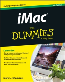 iMac For Dummies, Paperback Book