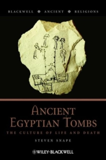 ANCIENT EGYPTIAN TOMBS, Paperback Book