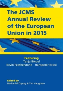 The JCMS Annual Review of the European Union in 2015, Paperback / softback Book