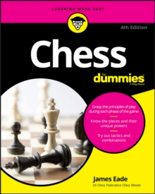 Chess For Dummies, Paperback Book