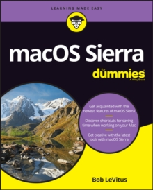 Macos Sierra for Dummies, Paperback Book