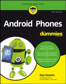 Android Phones for Dummies, 4th Edition, Paperback Book