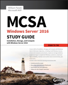 MCSA Windows Server 2016 Study Guide: Exam 70-740, Paperback / softback Book