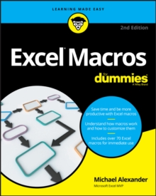 Excel Macros For Dummies, Paperback Book