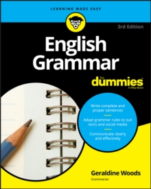 English Grammar For Dummies, Paperback / softback Book