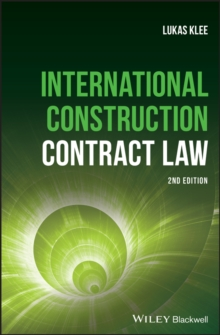 International Construction Contract Law, Hardback Book