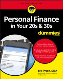 Personal Finance in Your 20s and 30s For Dummies, Paperback / softback Book