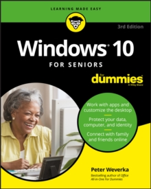 Windows 10 For Seniors For Dummies, Paperback Book
