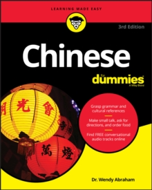 Chinese For Dummies, Paperback Book