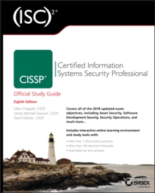 (ISC)(2) CISSP Certified Information Systems Security Professional Official Study Guide, Paperback Book