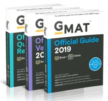 GMAT Official Guide 2019 Bundle : Books + Online, Paperback / softback Book
