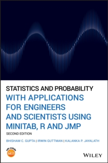 Statistics and Probability with Applications for Engineers and Scientists Using MINITAB, R and JMP, Hardback Book